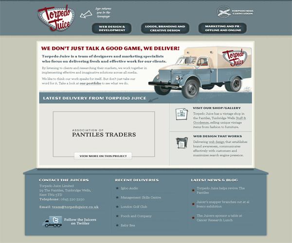 Красивый дизайн сайтов